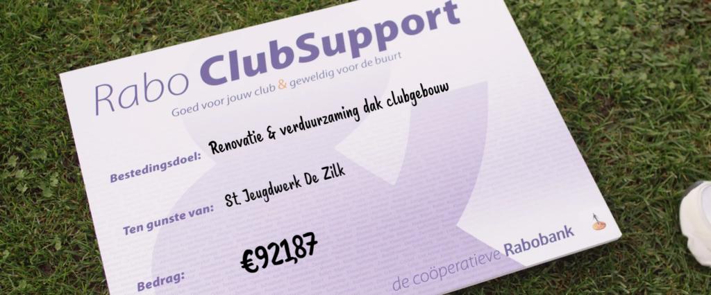Jeugdwerk De Zilk Rabo Clubsupport
